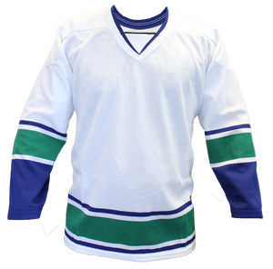 SP Apparel Evolution Series Vancouver Canucks White Hockey Jersey - PSH Sports