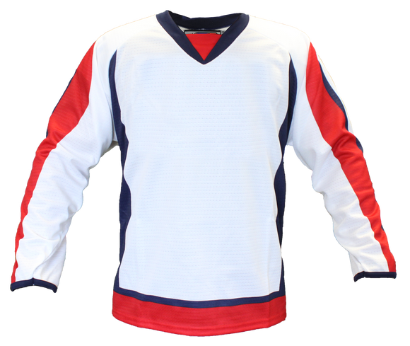 SP Apparel Evolution Series Washington Capitals White Sublimated Hockey Jersey - PSH Sports