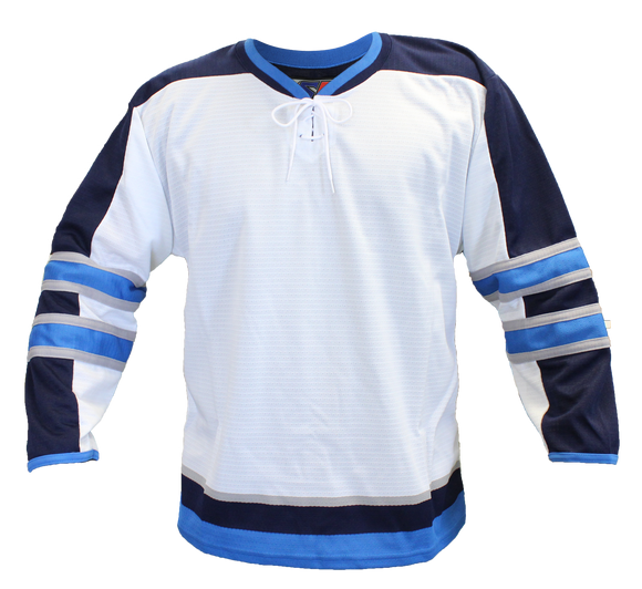 SP Apparel Evolution Series Winnipeg Jets White Hockey Jersey - PSH Sports