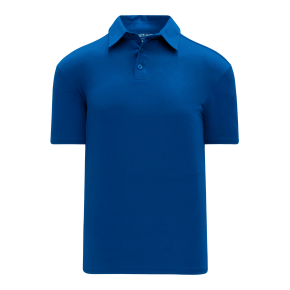 Athletic Knit (AK) A1810M-002 Mens Royal Blue Short Sleeve Polo Shirt