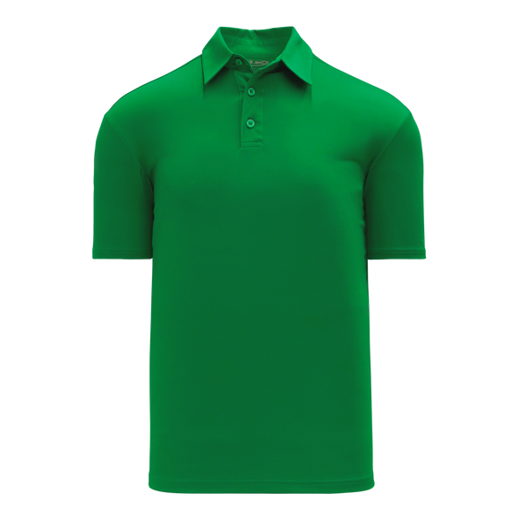 Athletic Knit (AK) A1810L-007 Ladies Kelly Green Short Sleeve Polo Shirt