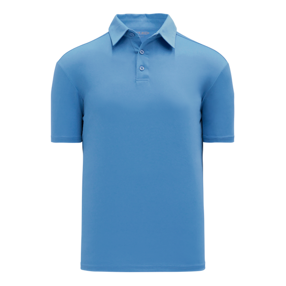 Athletic Knit (AK) A1810-018 Sky Blue Short Sleeve Polo Shirt