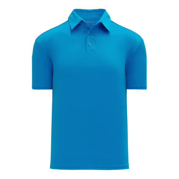 Athletic Knit (AK) A1810M-019 Mens Pro Blue Short Sleeve Polo Shirt
