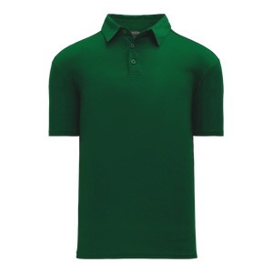 Athletic Knit (AK) A1810M-029 Mens Dark Green Short Sleeve Polo Shirt