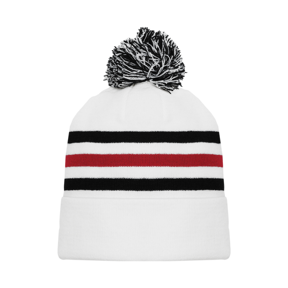 Athletic Knit (AK) A1830-305 Chicago White Hockey Toque/Beanie