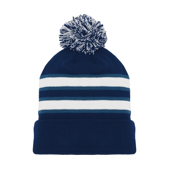 Athletic Knit (AK) A1830-595 Winnipeg Navy Hockey Toque/Beanie