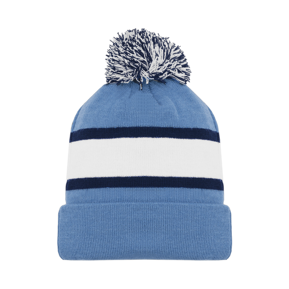 Athletic Knit (AK) A1830-828 Pittsburgh Sky Blue Hockey Toque/Beanie
