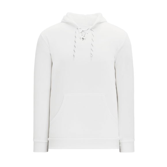 Athletic Knit (AK) A1834A-000 Adult White Apparel Sweatshirt