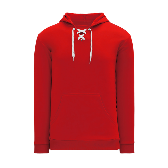 Athletic Knit (AK) A1834-005 Red Apparel Sweatshirt