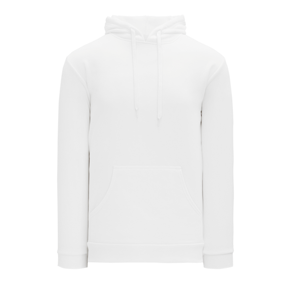 Athletic Knit (AK) A1835M-000 Mens White Apparel Sweatshirt