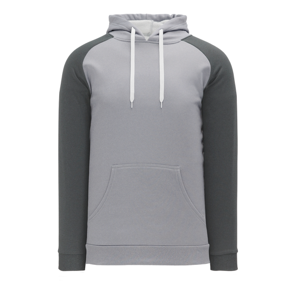 Athletic Knit (AK) A1840A-925 Adult Heather Grey/Heather Charcoal Apparel Sweatshirt