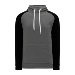 Athletic Knit (AK) A1840-930 Heather Charcoal/Black Apparel Sweatshirt