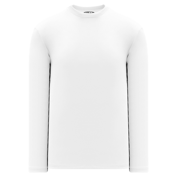 Athletic Knit (AK) V1900-000 White Long Sleeve Volleyball Shirt