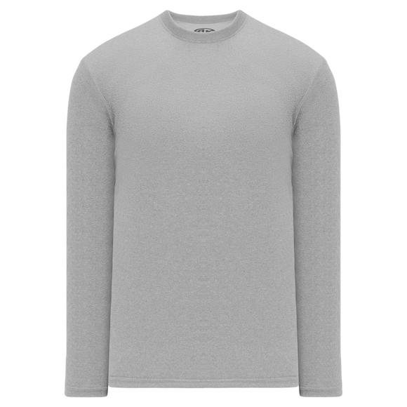 Athletic Knit (AK) V1900-020 Heather Grey Long Sleeve Volleyball Shirt