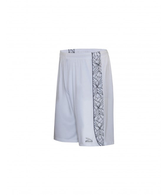 Score Sports Florida B1160 White/Black/Charcoal Basketball Shorts