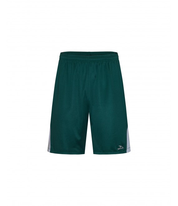 Score Sports Washington B1190 Hunter Green/White/Charcoal Grey Basketball Shorts