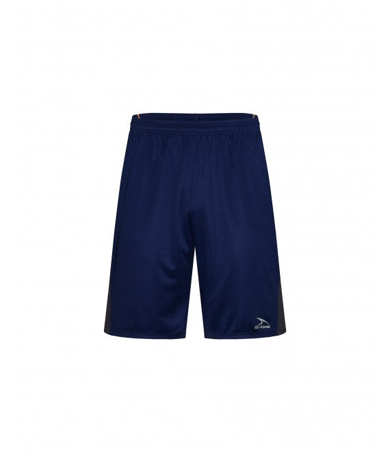 Score Sports Washington B1190 Navy/Charcoal Grey/Gold Basketball Shorts