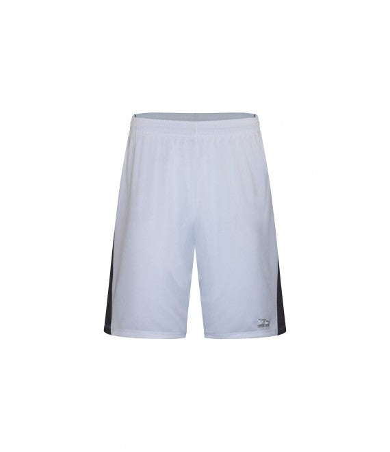 Score Sports Washington B1190 White/Charcoal Grey/Black Basketball Shorts
