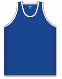 Athletic Knit (AK) B1325 Royal Blue/White League Basketball Jersey