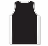 Athletic Knit (AK) B2115 Black/White Pro Basketball Jersey
