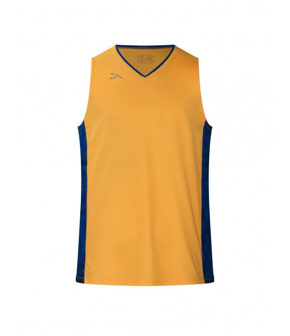 Score Sports Los Angeles B308 Gold/Royal Blue Basketball Jersey