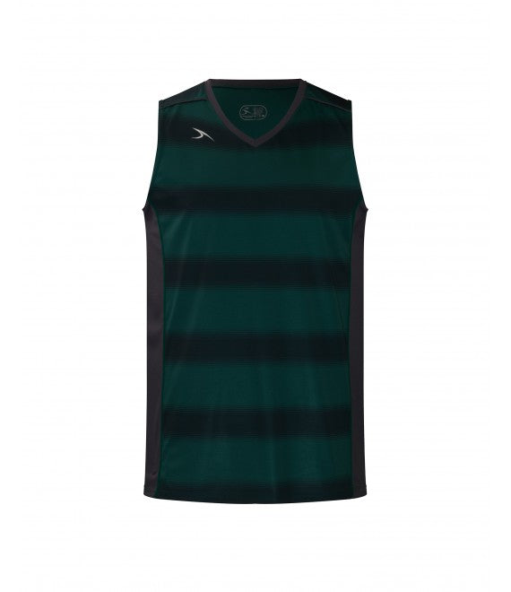Score Sports Boston B395 Hunter Green/Charcoal Basketball Jersey