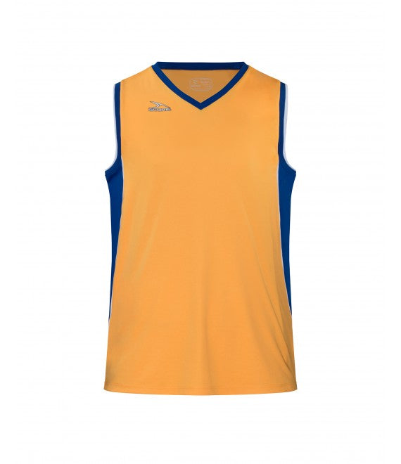 Score Sports Seattle B555 Gold/Royal Blue/White Basketball Jersey