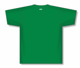 Athletic Knit (AK) BA1347-007 Kelly Green Two-Button Baseball Jersey