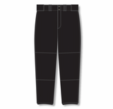 Athletic Knit (AK) BA1380-001 Black Pro Baseball Pants