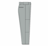 Athletic Knit (AK) BA1390-012 Grey Pro Baseball Pants