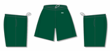 Athletic Knit (AK) BAS1700-029 Dark Green Baseball Shorts