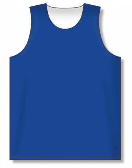 Athletic Knit (AK) BR1105 Royal Blue/White Reversible League Basketball Jersey
