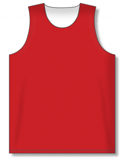 Athletic Knit (AK) BR1105 Red/White Reversible League Basketball Jersey