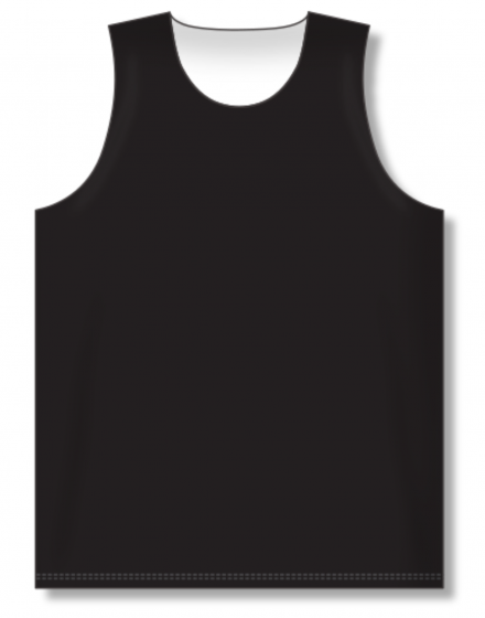 Athletic Knit (AK) BR1105 Black/White Reversible League Basketball Jersey