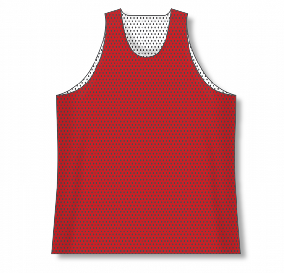Athletic Knit (AK) BR1302 Red/White Reversible League Basketball Jersey