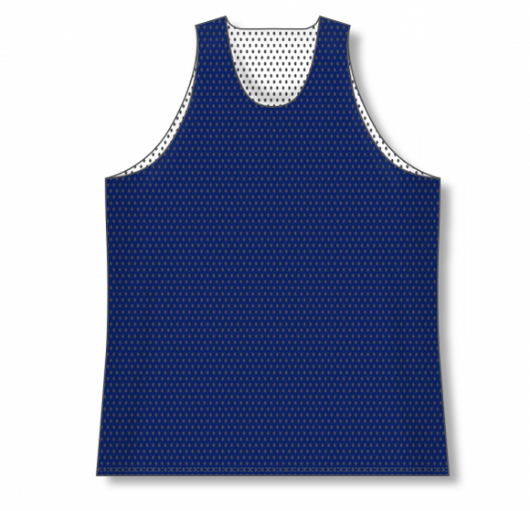 Athletic Knit (AK) BR1302 Navy/White Reversible League Basketball Jersey