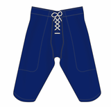 Athletic Knit (AK) F205 Navy Pro Football Pants