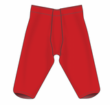 Athletic Knit (AK) F205-005 Red Pro Football Pants