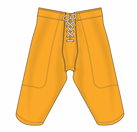 Athletic Knit (AK) F205 Gold Pro Football Pants