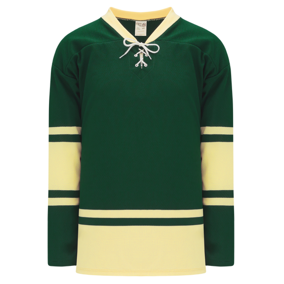 Athletic Knit (AK) H550BK-ALL730BK Pro Series - Knitted 2004 NHL All Stars Forest Green Hockey Jersey