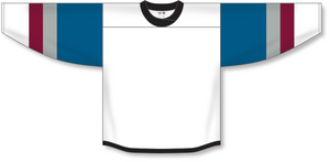 Athletic Knit (AK) H550B 2016 Colorado Avalanche Stadium Series White Hockey Jersey - PSH Sports