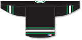 Athletic Knit (AK) H550B New 1995 Dallas Stars Black Hockey Jersey