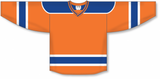 Athletic Knit (AK) H550B-EDM738B New 2015 Edmonton Oilers Third Orange Hockey Jersey