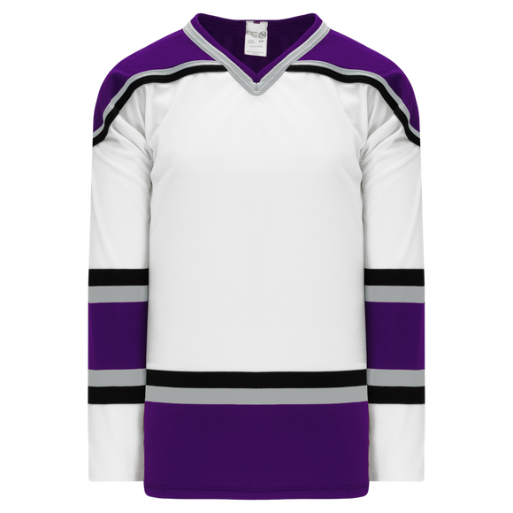 Athletic Knit (AK) H550BK-LAS952BK Pro Series - Knitted 1998 Los Angeles Kings White Hockey Jersey