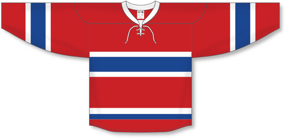 Athletic Knit (AK) H550B 2015 Montreal Canadiens Red Hockey Jersey - PSH Sports