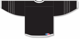 Athletic Knit (AK) H550BA-NYI617B New Adult 2015 New York Islanders Third Black Hockey Jersey