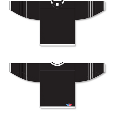 Image of Athletic Knit (AK) H550B 2015 New York Islanders Third Black Hockey Jersey - PSH Sports