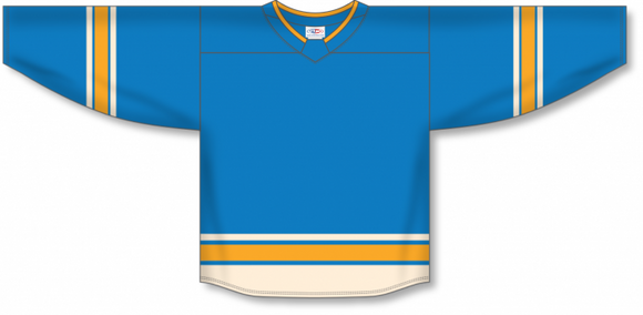 Athletic Knit (AK) H550B New 2016 St. Louis Blues Winter Classic Blue Hockey Jersey