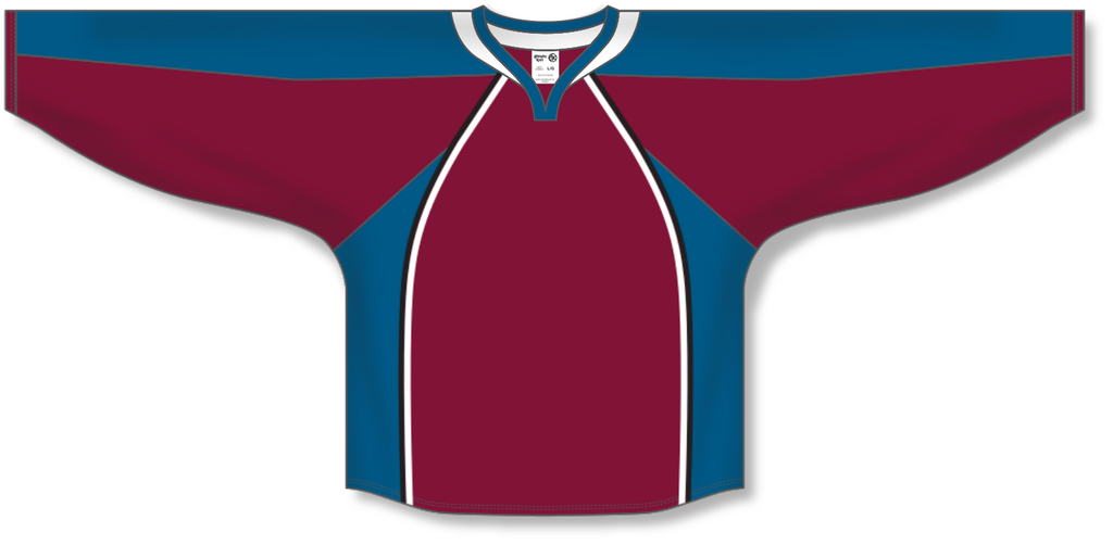 Athletic Knit (AK) H550C 2011 Colorado Avalanche Cardinal Red Hockey Jersey - PSH Sports