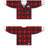 "Athletic Knit (AK) H550C Sublimated The ""Don"" Red Hockey Jersey - PSH Sports"